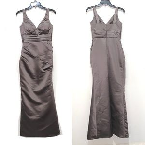 Bill Levkoff Latte Bridesmaid - Mother's Gown SZ 2